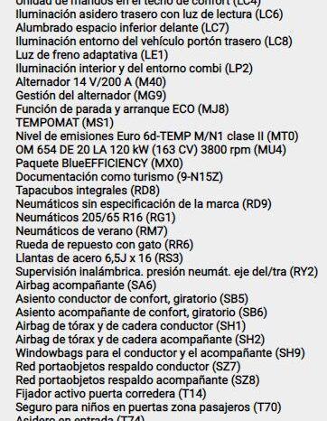MERCEDES-BENZ Vito 220 d Marco Polo Activity Largo 4p. lleno
