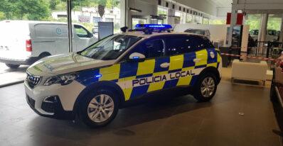 Peugeot 3008 reacondicionado policía local